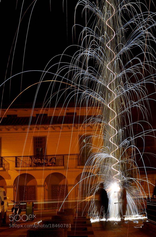 Photograph juegos artificiales by Xavier Ortega on 500px