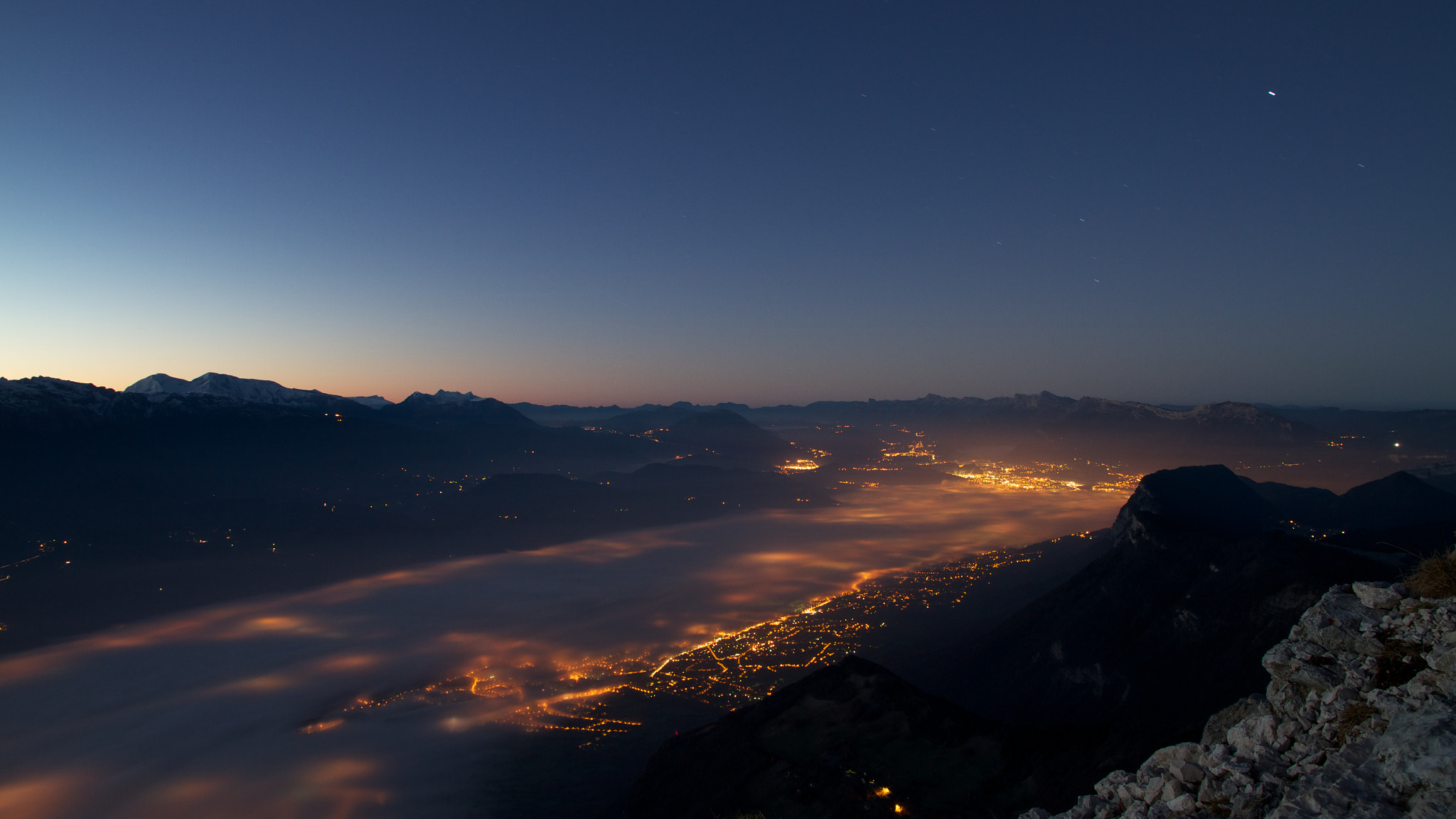 Photograph Grenoble in a sleeping bag by Julien Jasseny on 500px