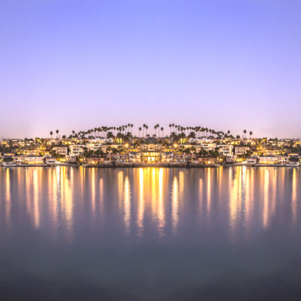 Panorama Newport Harbor, Canon EOS REBEL T5I, Canon EF-S 18-55mm f/3.5-5.6 IS STM