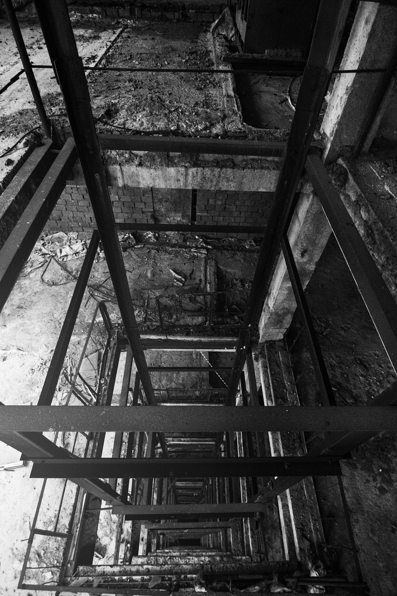 Photograph downstairs by Leonid Wonder on 500px