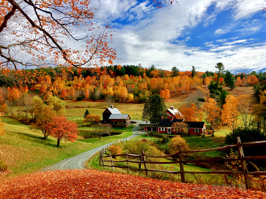 Beautiful - Sleepy Hollow Farm ( Vermont) by Jodie Chin on 500px.com