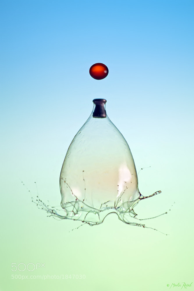 Photograph Two Drops - One Pellet by Markus Reugels on 500px