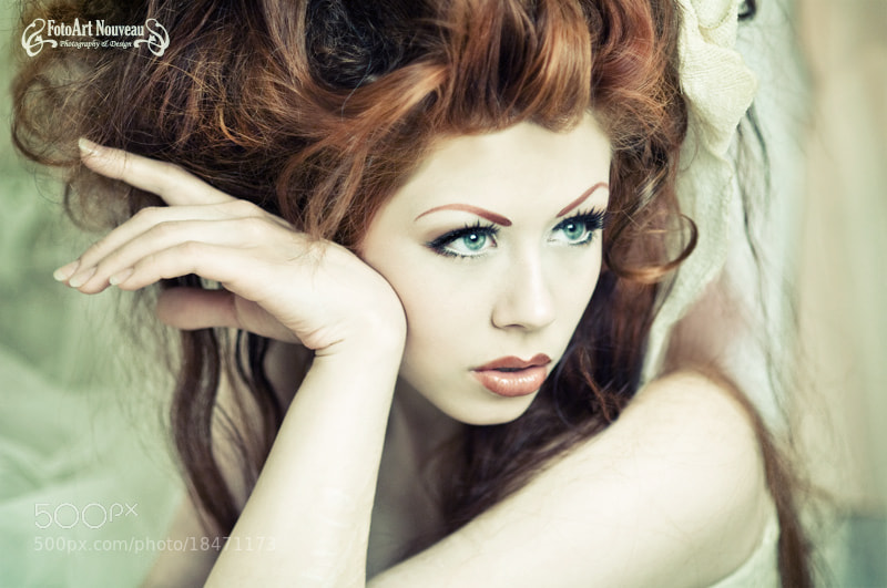 Photograph Green eyes by Mascha Seitz on 500px