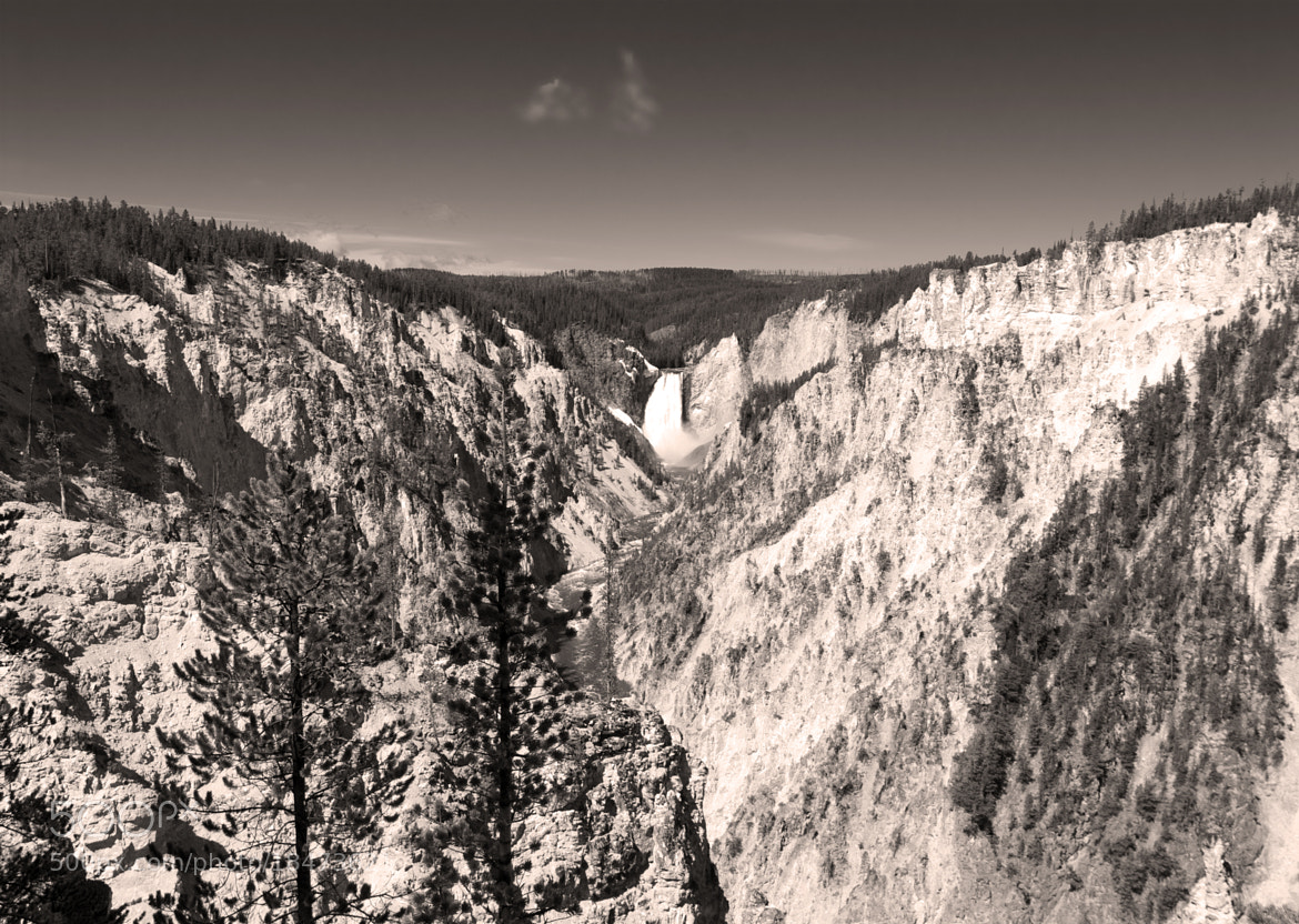 Photograph Grand Canyon of the Yellowstone by Mark Jones on 500px