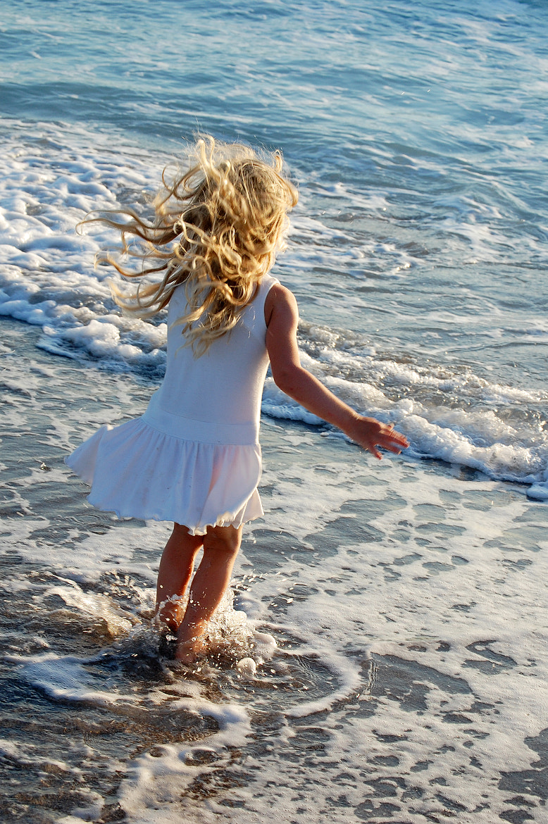 Photograph My girl on the beach of Vada by Karin Bee on 500px