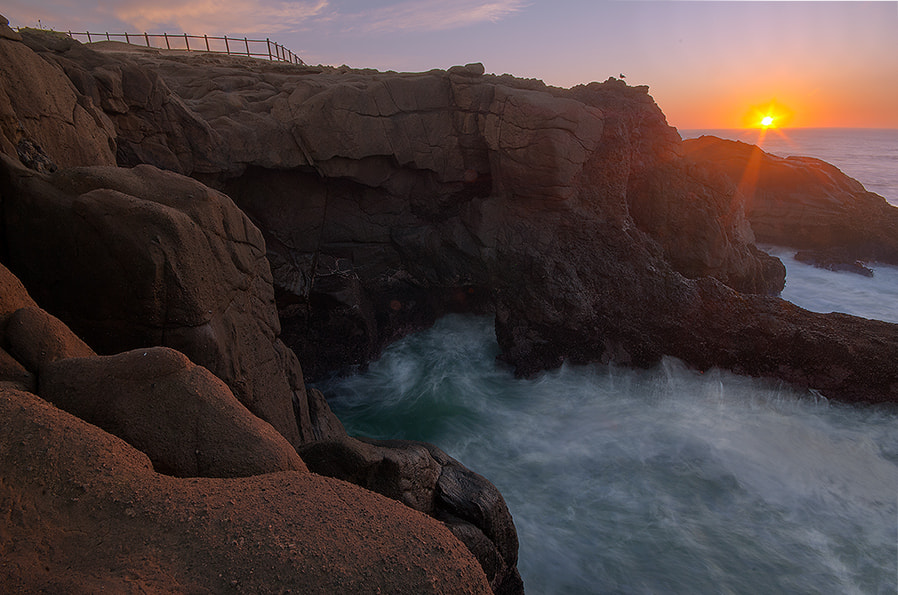 Photograph Sandstone and the Sea by Henrik Anker Bjerregaard  Lundh III on 500px