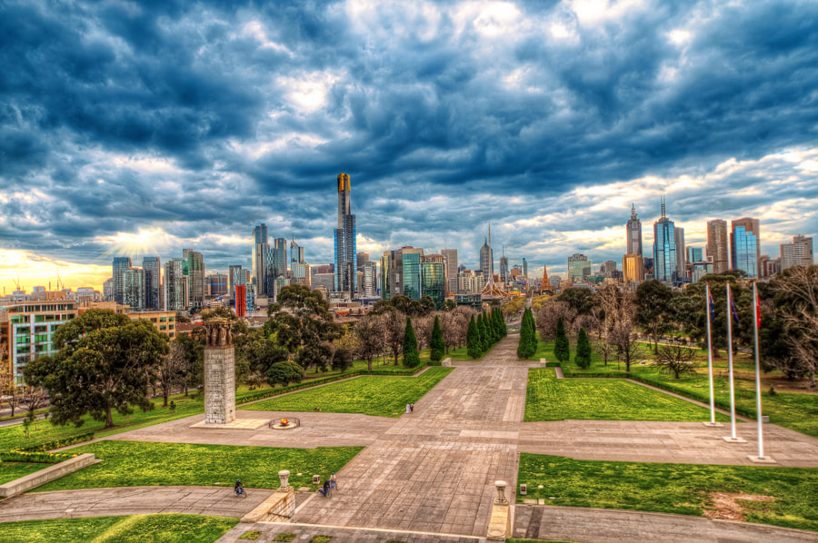 Photograph Melbourne Skyline by Bruce Noronha on 500px