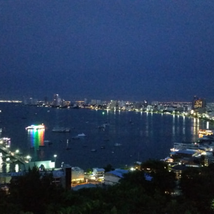 Night panorama at Pattaya
