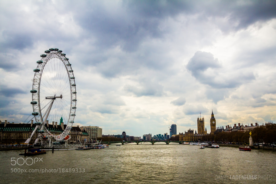 Photograph London Sights under London Sky by Daniel Ladenhauf on 500px