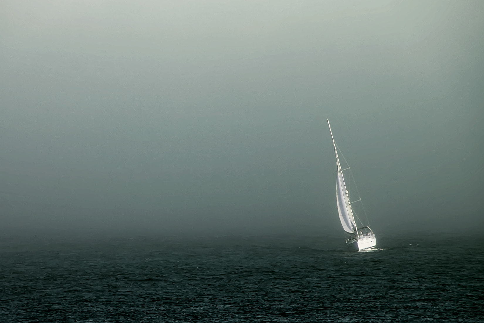 Photograph Sailing to nowhere by Florian Hehenberger on 500px