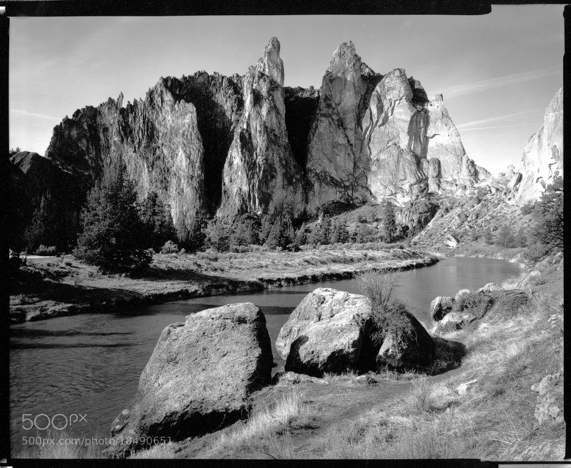 Photograph Smith Rock Group and Crooked River by John  Reed on 500px