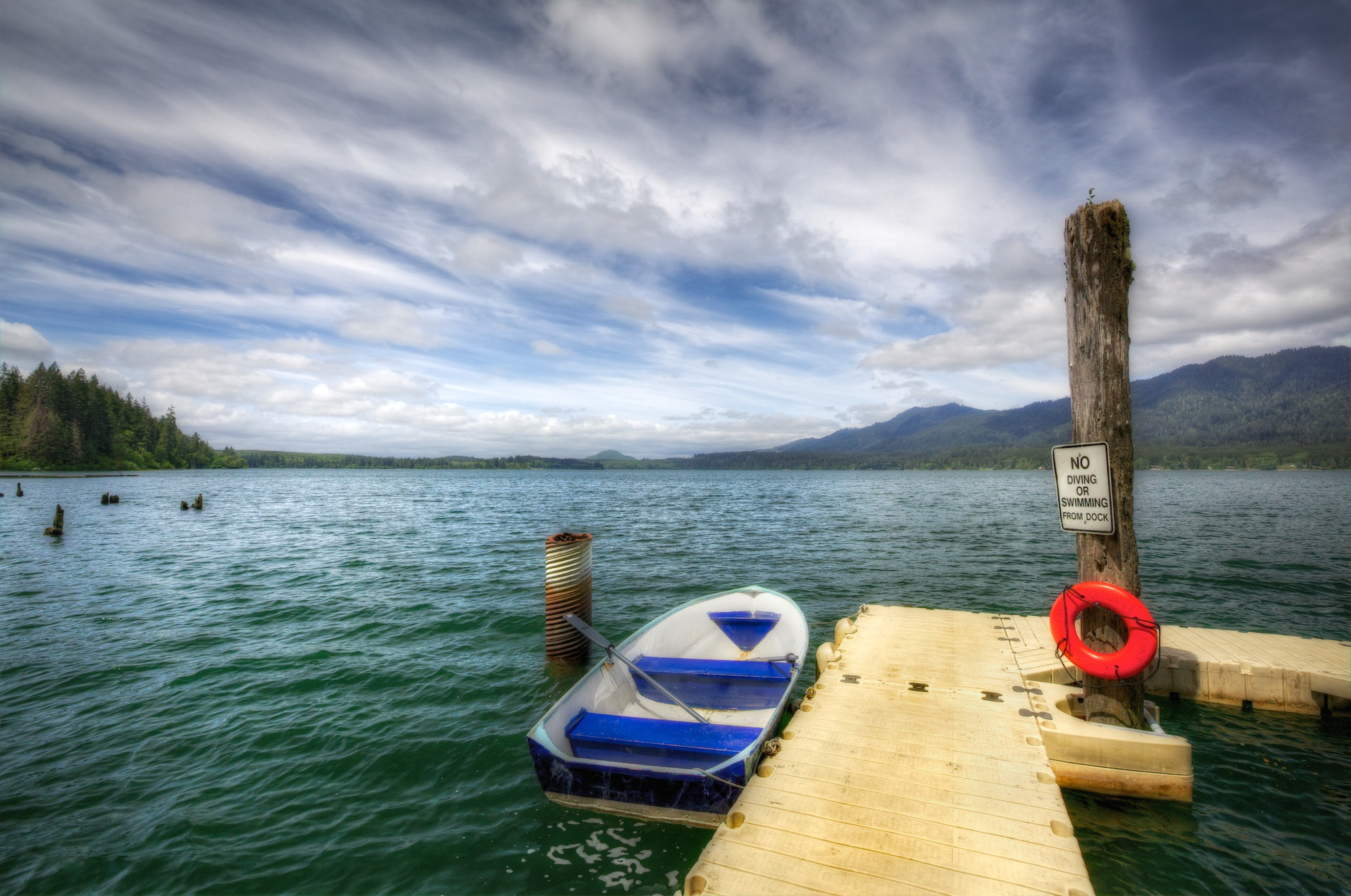 Photograph Pier at Lake Quinault by Frank Kehren on 500px
