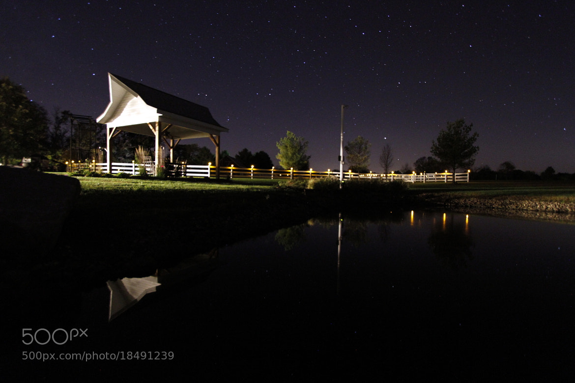 Photograph Night Time at the Farm by Larry Sullivan on 500px