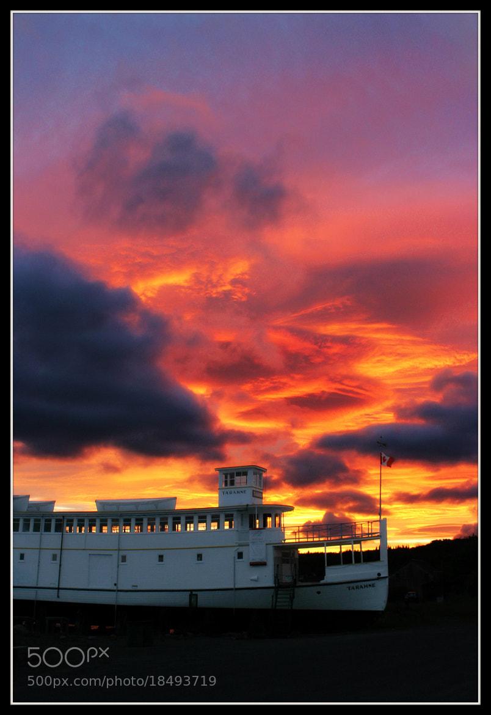 Photograph M.V. Tarahne, Atlin,Canada by Nadia Boudreau on 500px