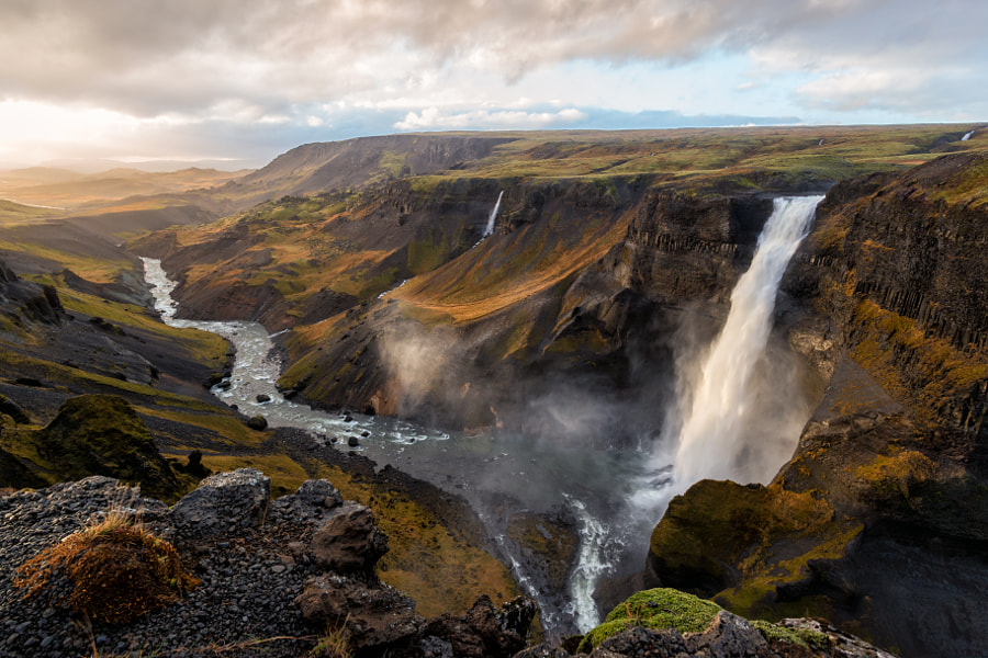 Haifoss Iceland by Dale Johnson on 500px.com