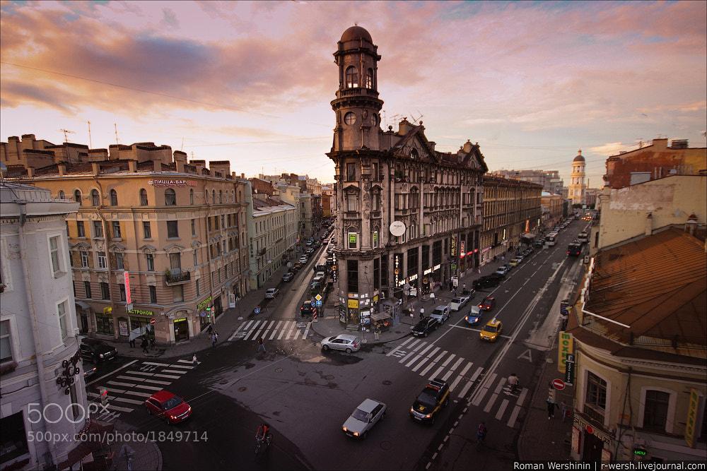 Photograph Пять углов by Roman Wershinin on 500px