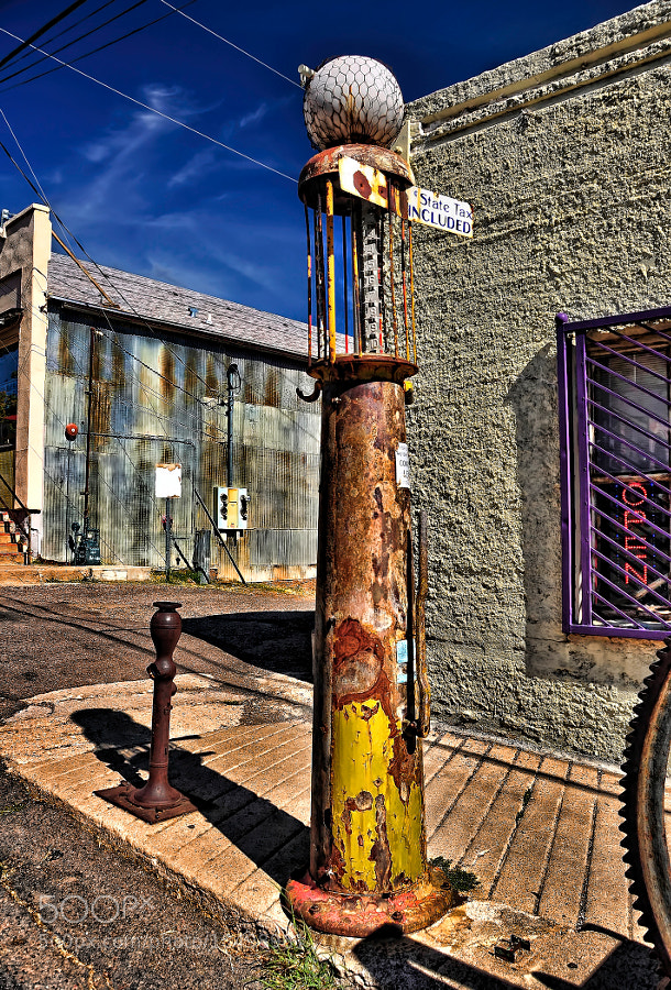 Photograph Old gas pump, Jerome AZ by John Gafford on 500px