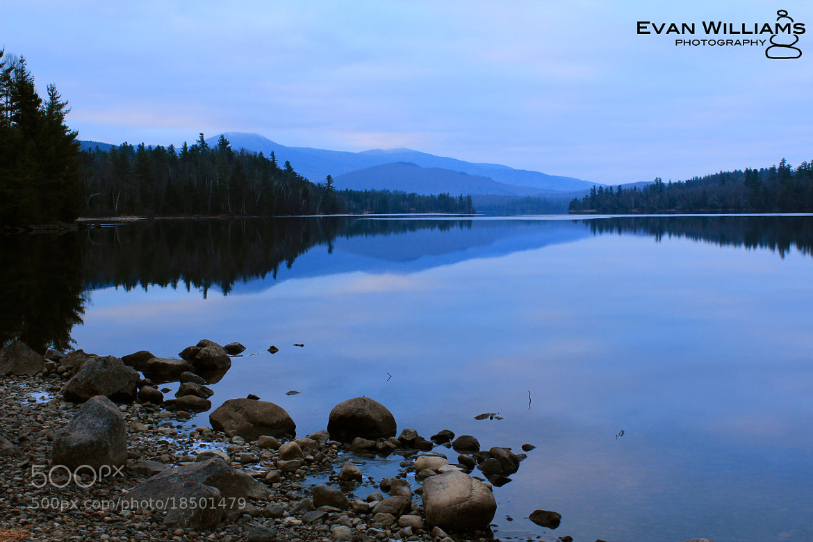 Photograph Franklin Falls Pond by Evan Williams on 500px