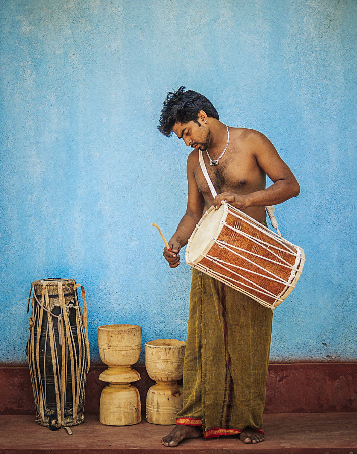 Drummer, Alawala, Sri Lanka #2 by Son of the Morning Light on 500px.com