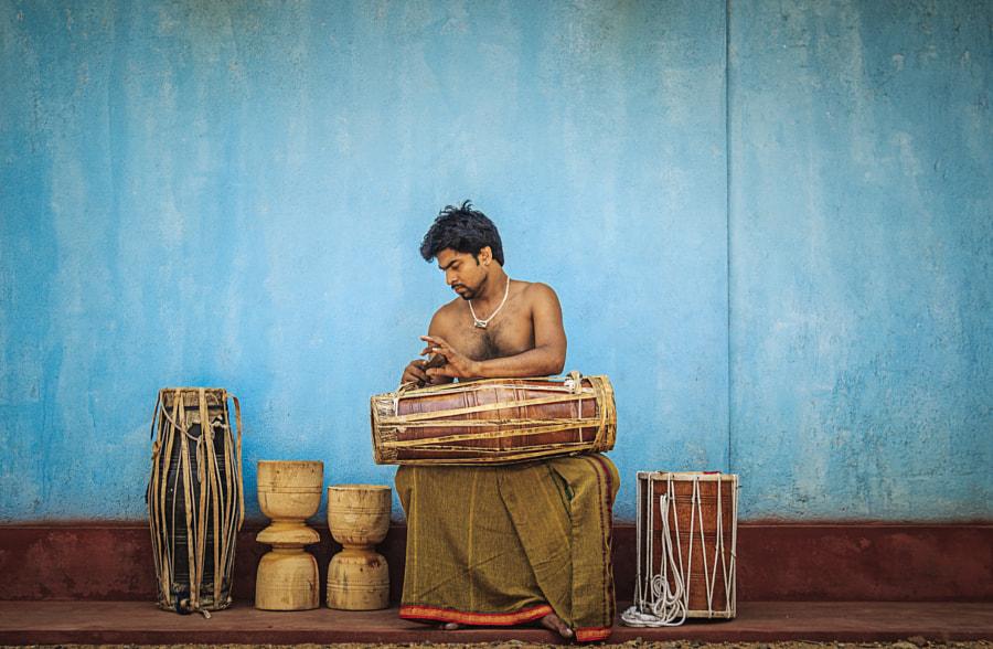 Drummer, Alawala, Sri Lanka #4 by Son of the Morning Light on 500px.com