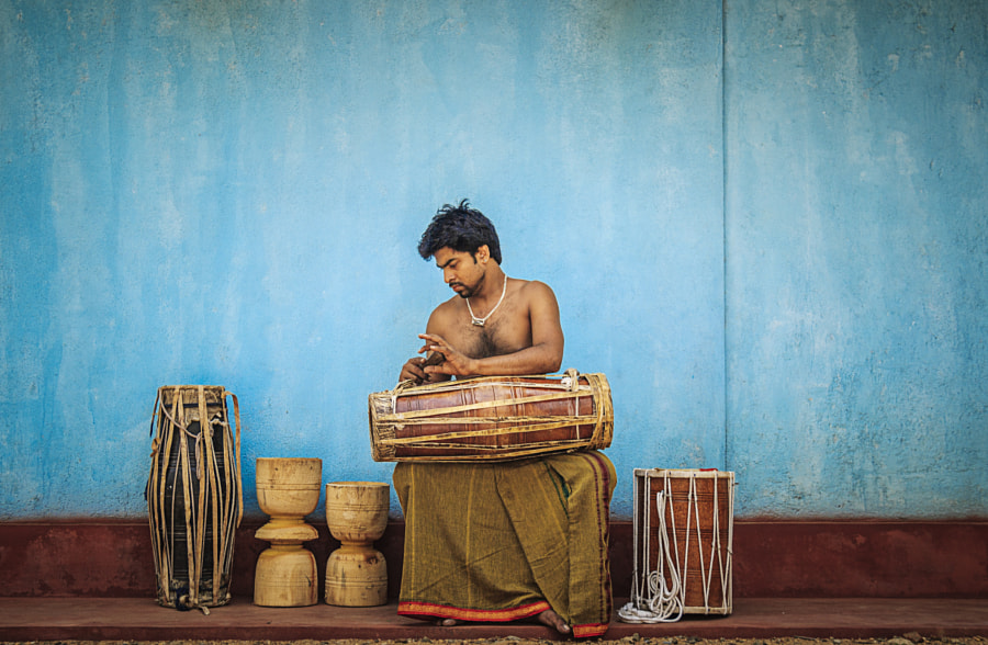 Drummer, Alawala, Sri Lanka #4 by Son of the Morning Light on 500px.com