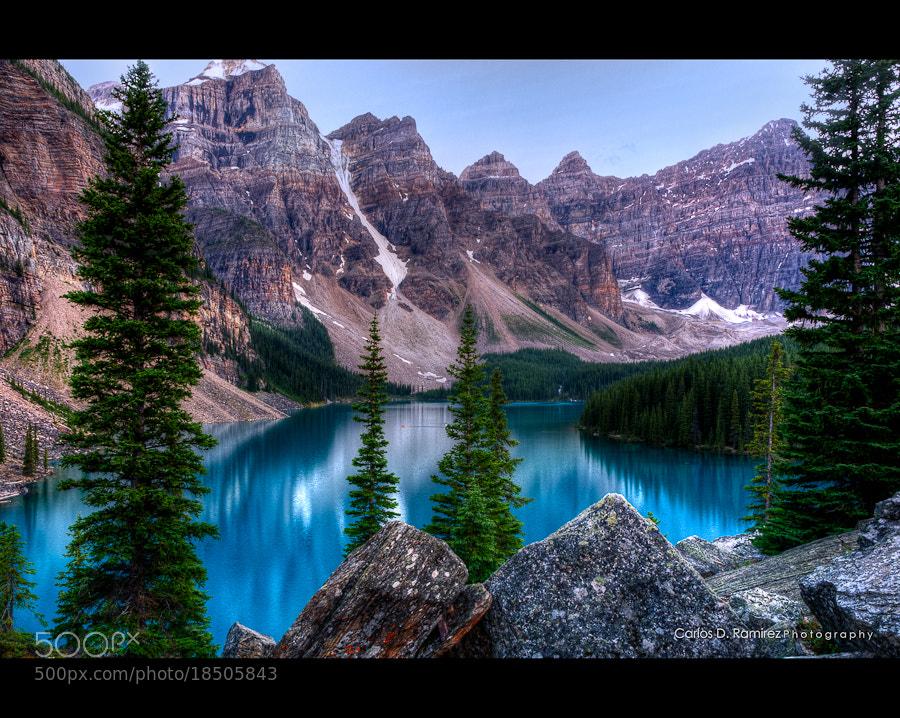 Photograph Moraine Lake by Carlos D. Ramirez on 500px