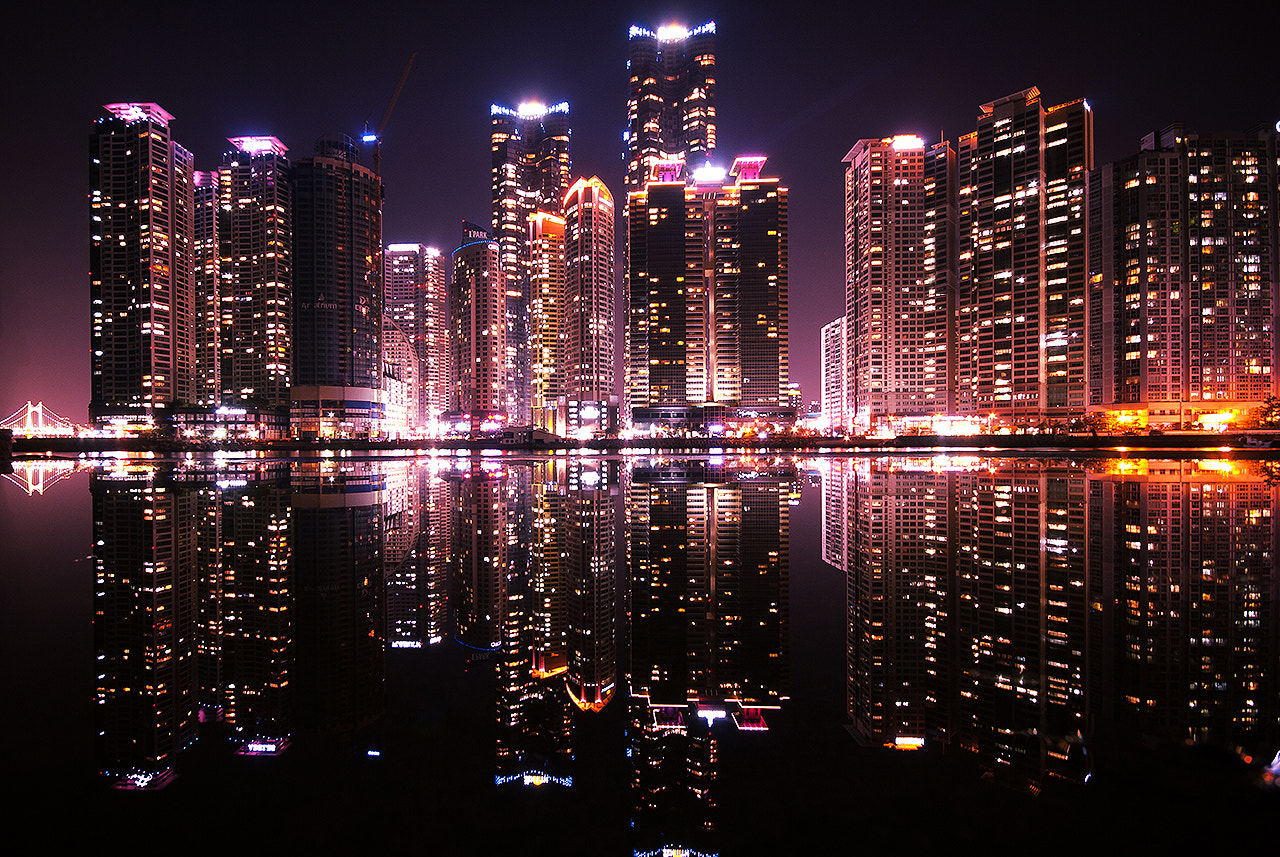 Photograph nightview by LEE GEON on 500px