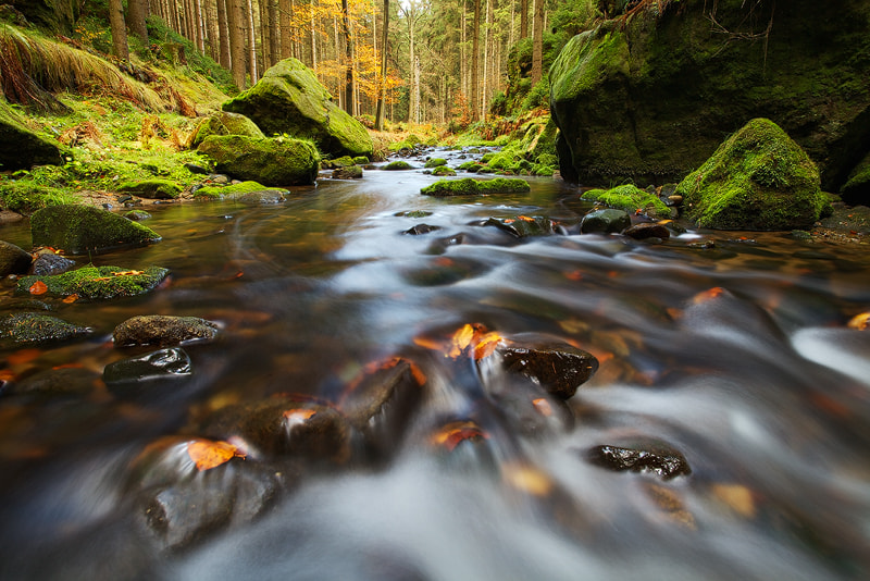 Photograph Creek by Martin Rak on 500px