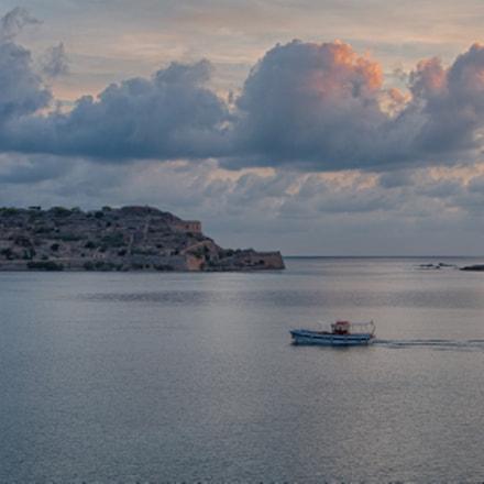 Caïque Boat at Sunrise - Crete, Greece
