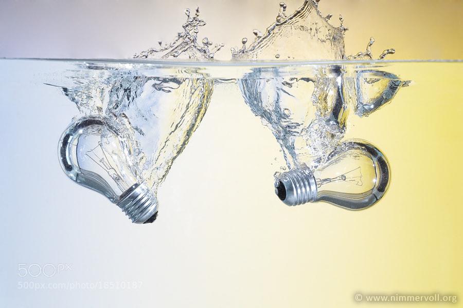 Photograph Aqua Splash by Daniel Nimmervoll on 500px