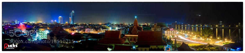 Photograph Phnom Penh City at Night ... by Pheara Ma on 500px