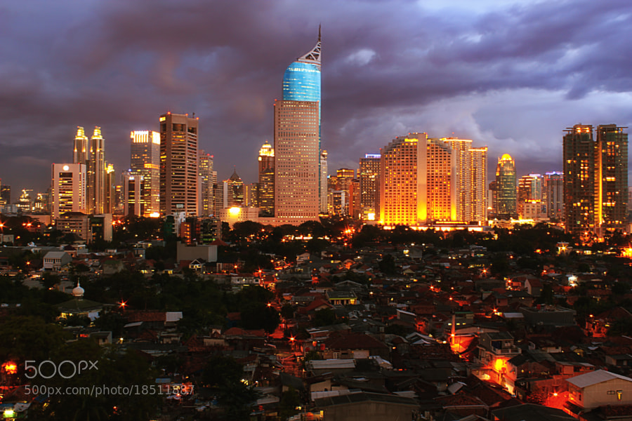 Photograph Jakarta Night View by Ismed Hasibuan on 500px