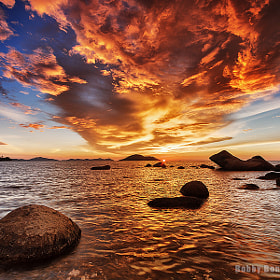 Fire Sunset by Bobby Bong (Bobby-Bong)) on 500px.com