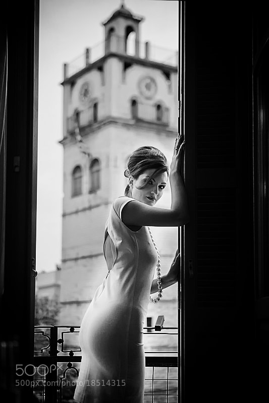 Photograph Evita on balcony by Christos Lamprianidis on 500px