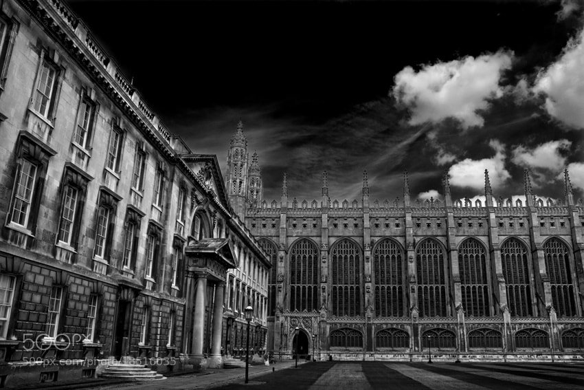 Photograph King's College Courtyard by mario pignotti on 500px