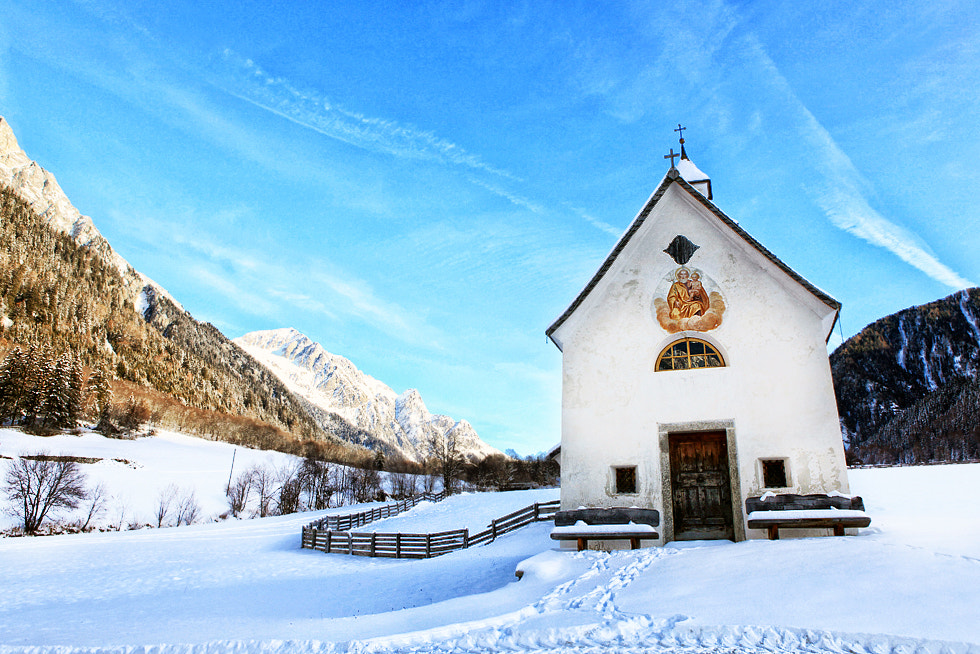 Photograph Mountain Church by jake  on 500px