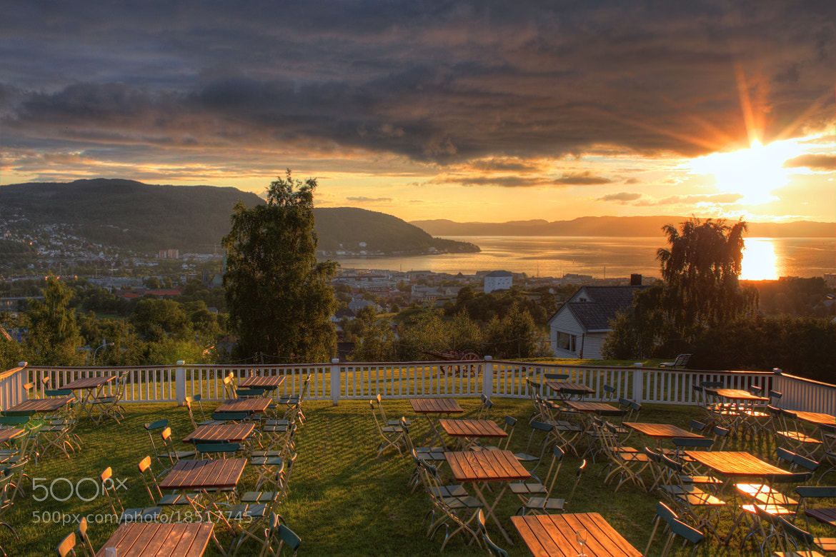Photograph Sunset in Trondheim by Emil Wiik Larsen on 500px