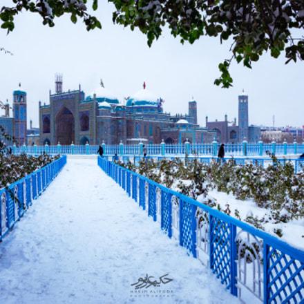 Snow on Blue Mosque