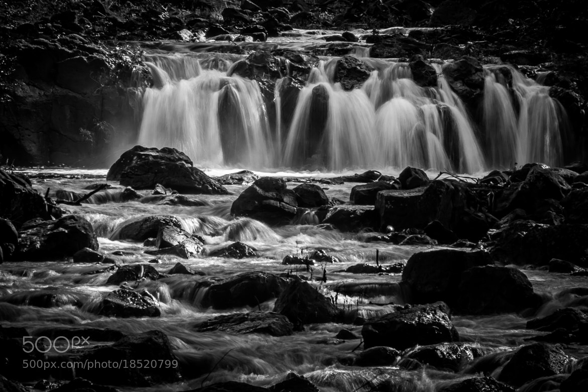Photograph Waterfall - Black and White by Willy Aona on 500px