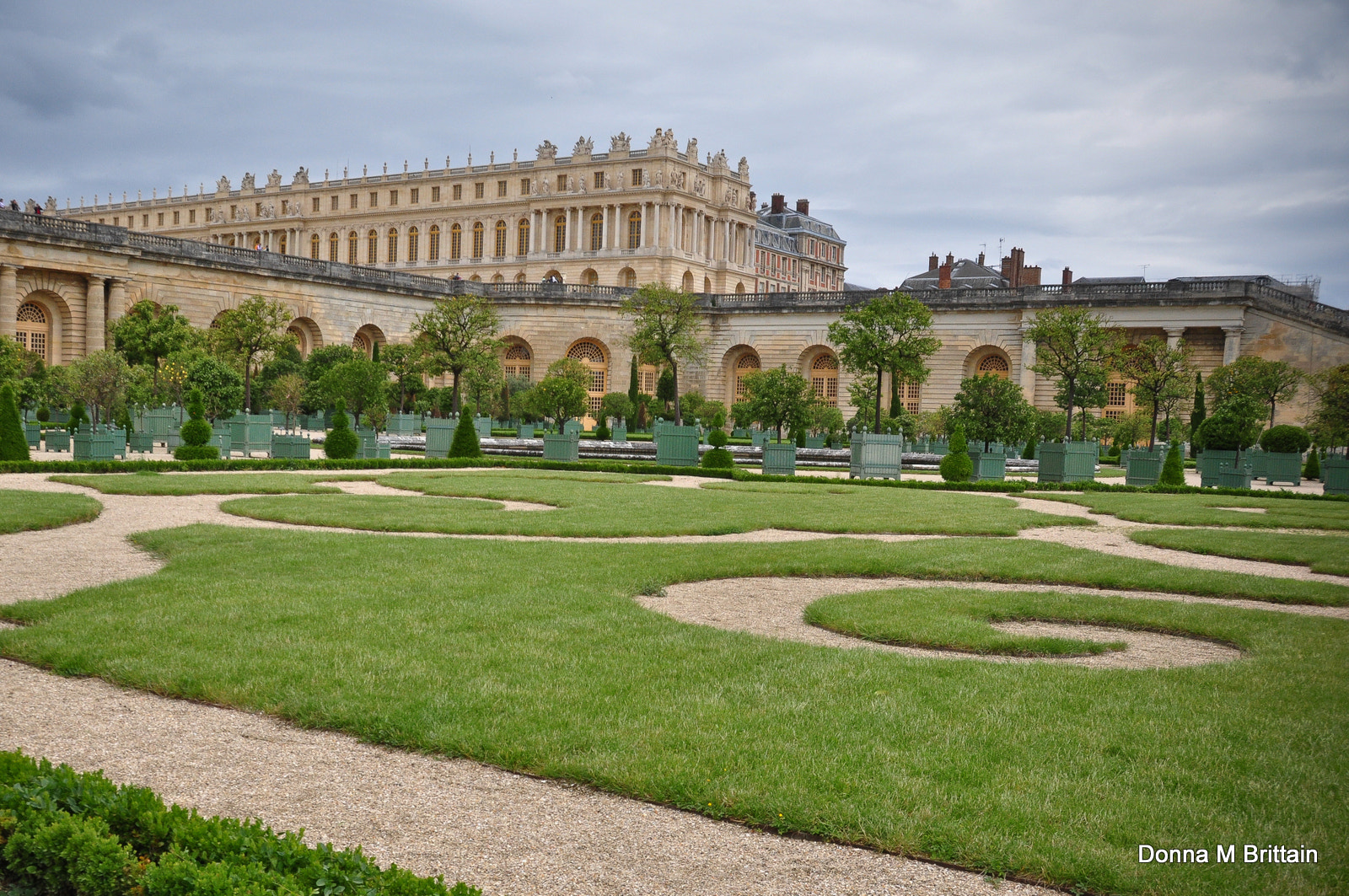 Photograph Palace of Versailles-from the Orangerie by Donna Brittain on 500px