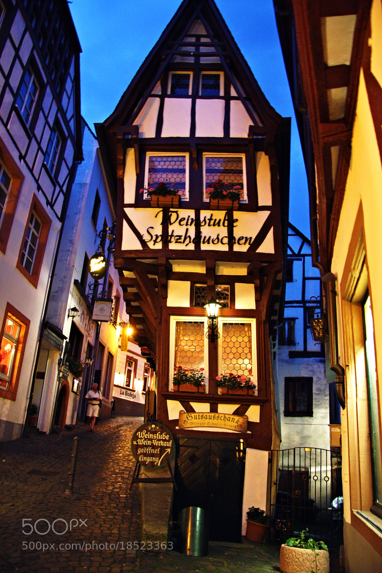 Photograph Bernkastel-Kues Crooked House in Germany by Shannon Elizabeth on 500px