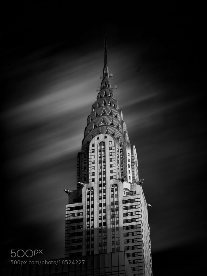 Photograph Dark Winds, Chrysler Building by Ajit Menon on 500px