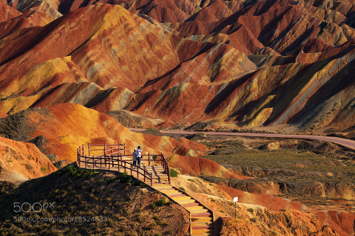 Photograph Danxia Landform (China) by Jacky CW on 500px
