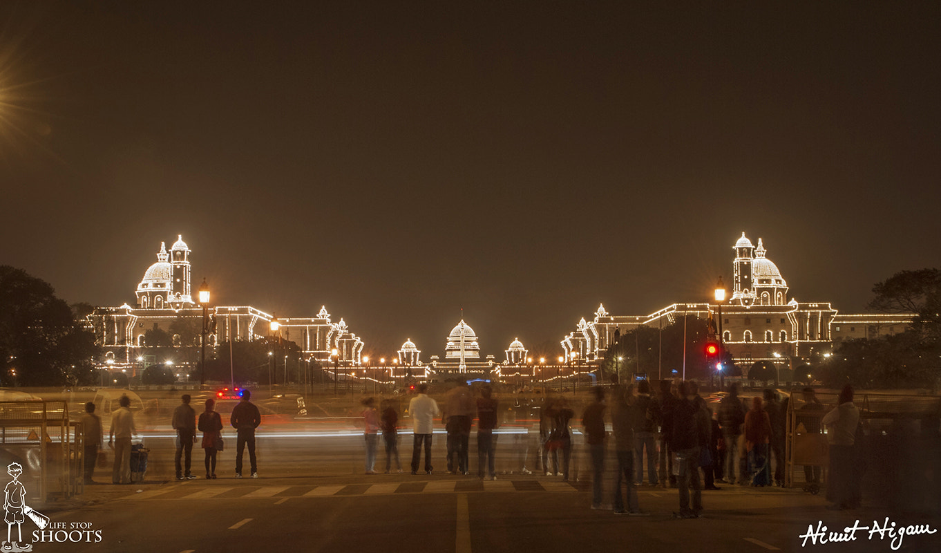 Photograph President House... by Nimit Nigam on 500px