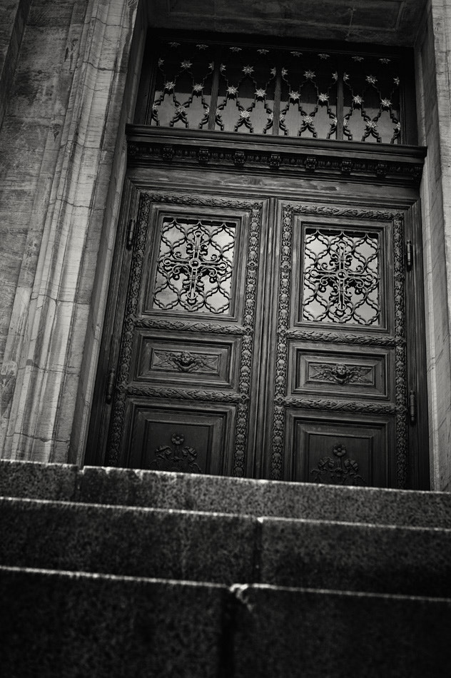 Photograph The Door To Marmorkirken Church by Scott Fisher on 500px