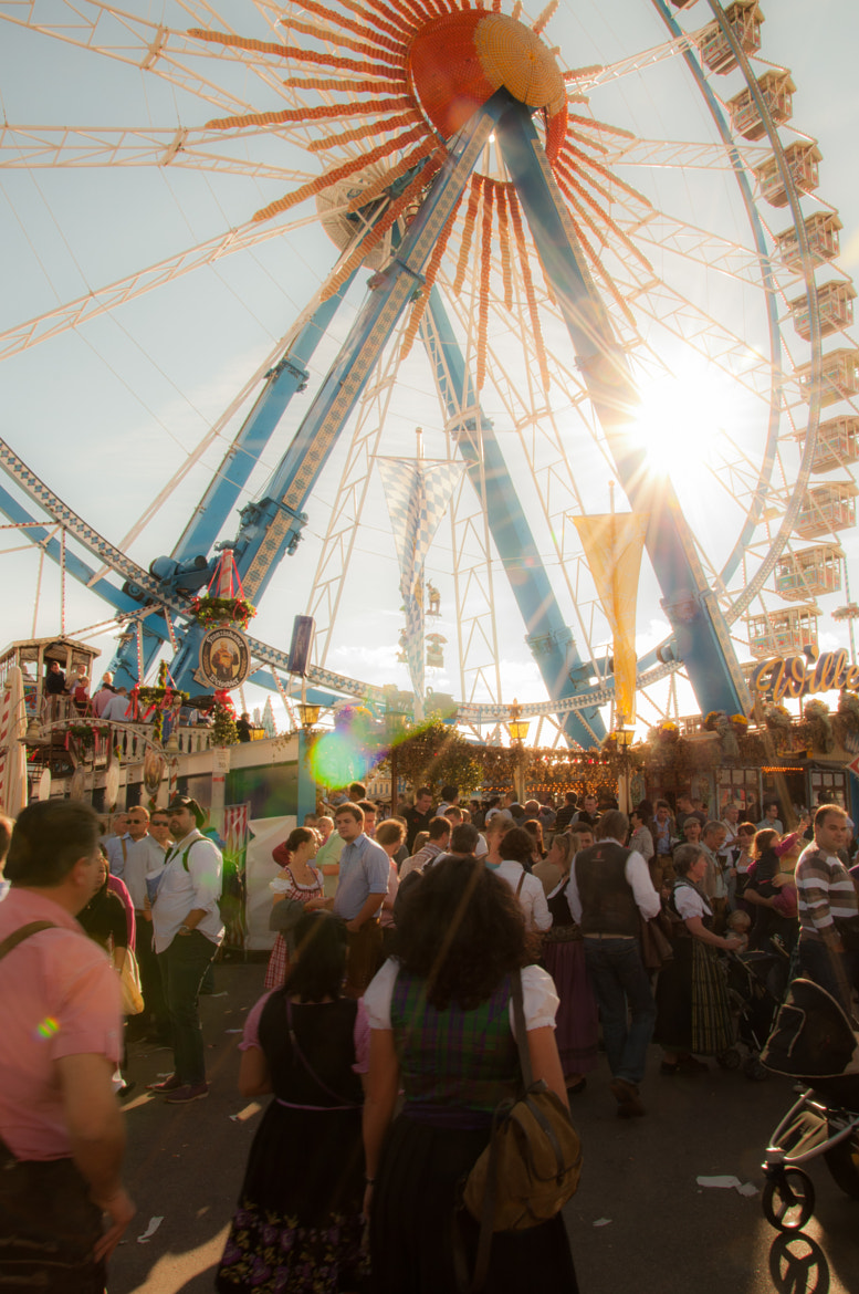 Photograph Riesenrad Oktoberfest by Philipp Mayinger on 500px