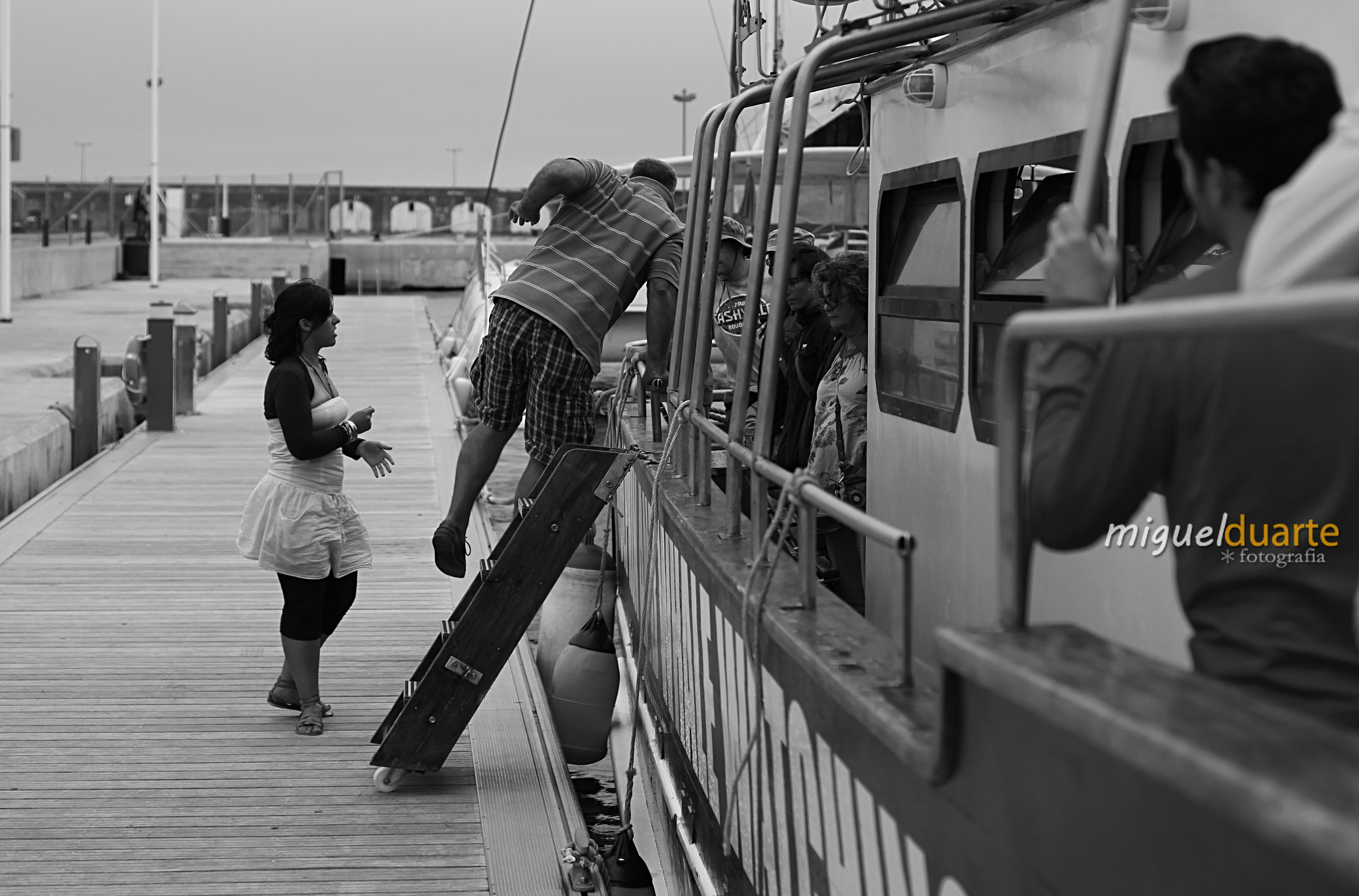 Photograph Friends on board by Miguel Duarte on 500px