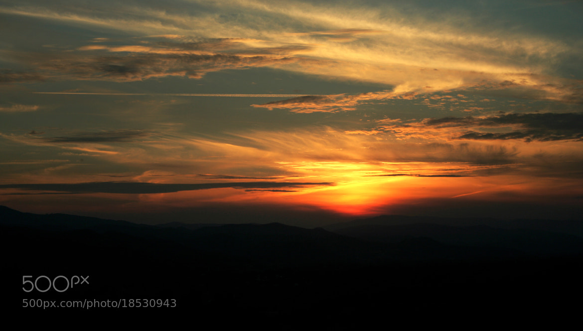 Photograph sun and clouds by Eleonora B. on 500px