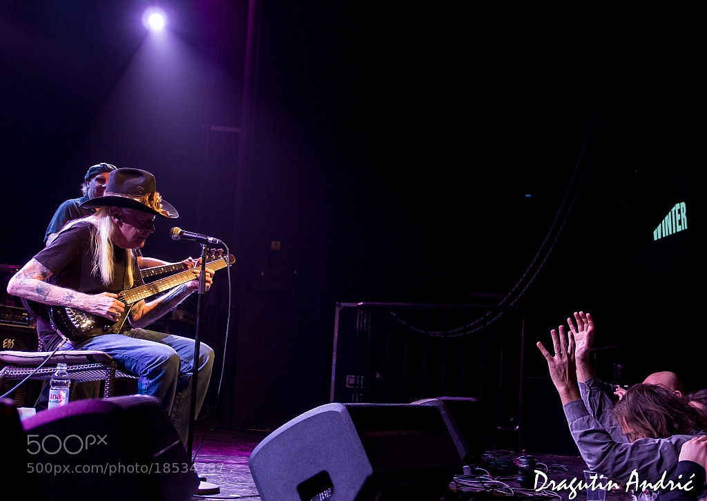 Photograph Johnny Winter by Dragutin Andric on 500px