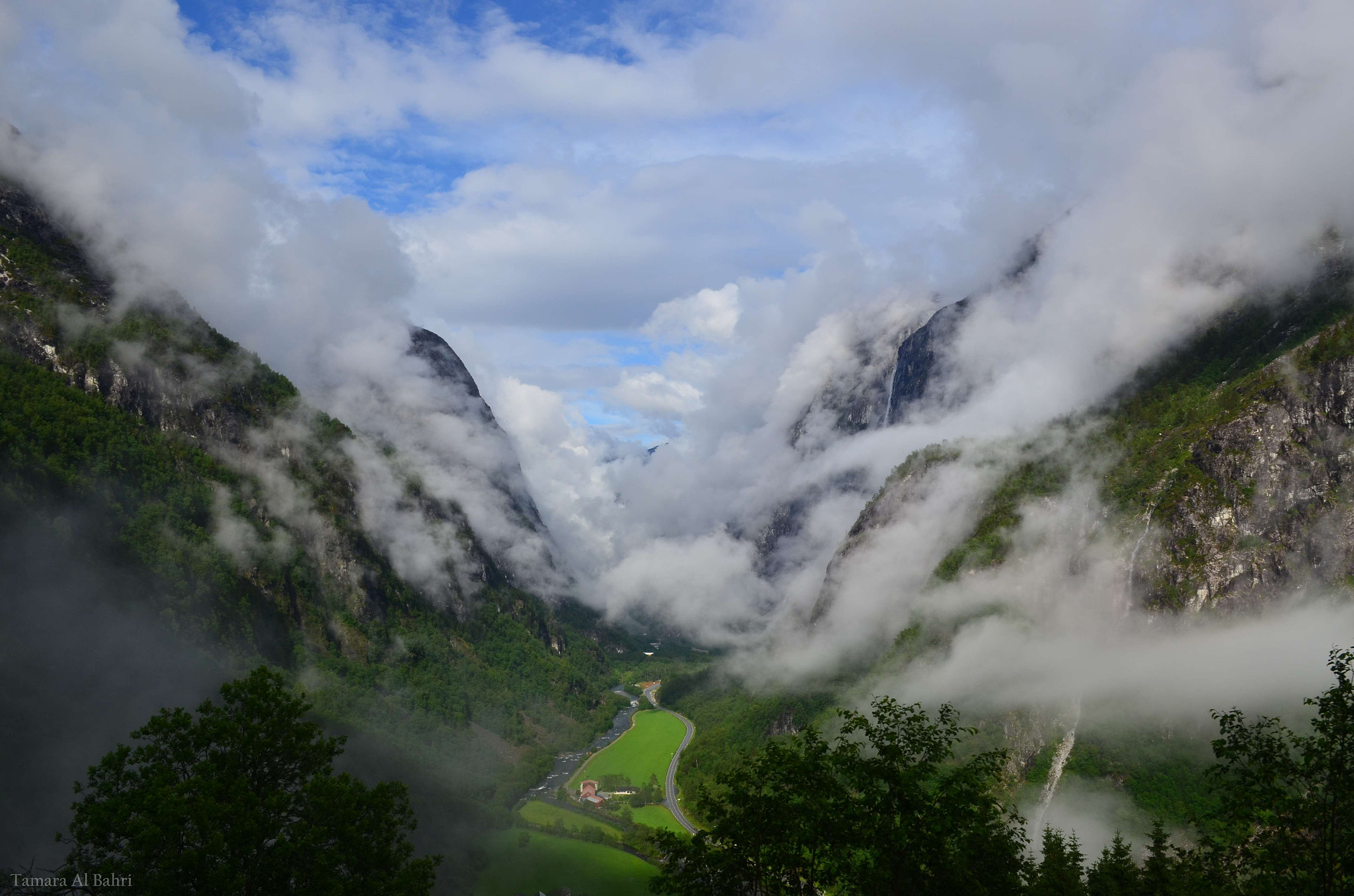 Photograph River of Clouds by Tamara Al Bahri on 500px